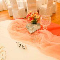 Tischdekoration Hochzeit Feenzelt