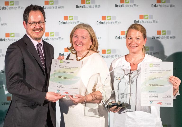 Kolariks Luftburg erhält den Umweltpreis 2019 der Stadt Wien 2