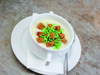 Spargelcremesuppe