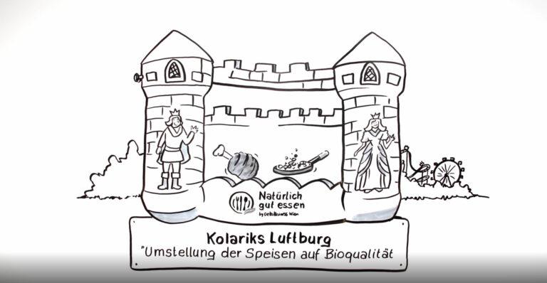 Kolariks Luftburg erhält den Umweltpreis 2019 der Stadt Wien 1