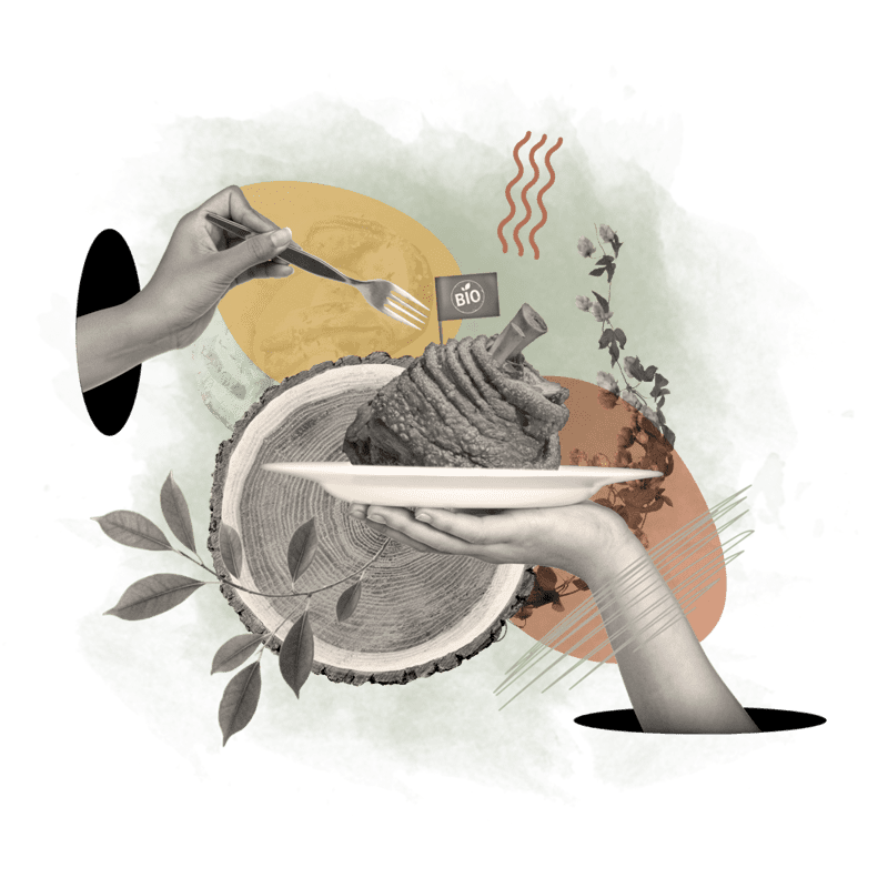 Collage - Essen