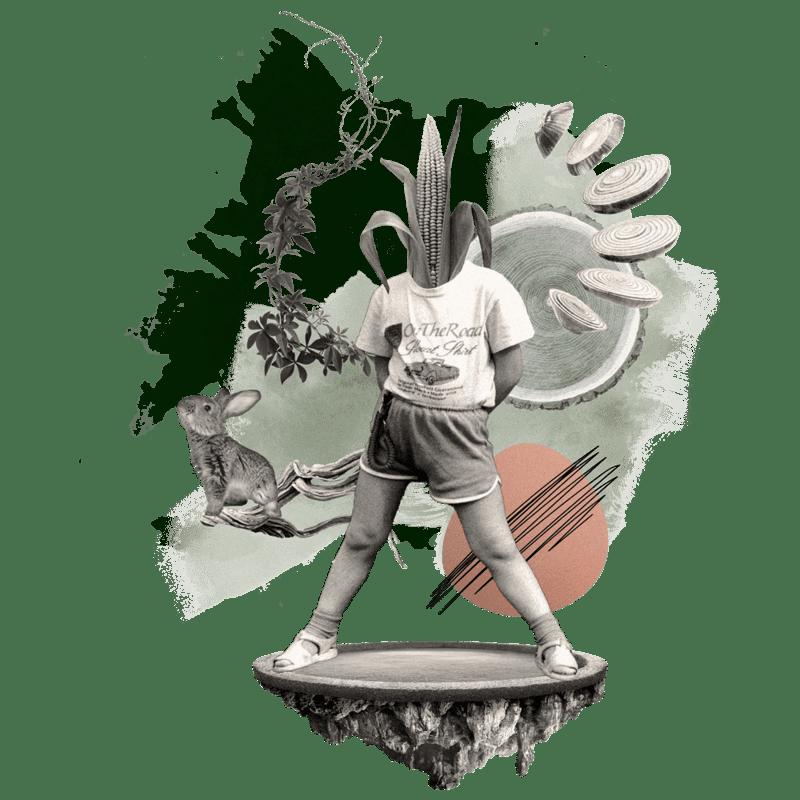 Collage - Maismensch